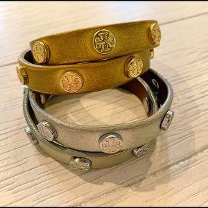 Tory Burch Double Wrap Bracelets